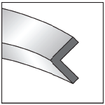 Angle heel in 2D image
