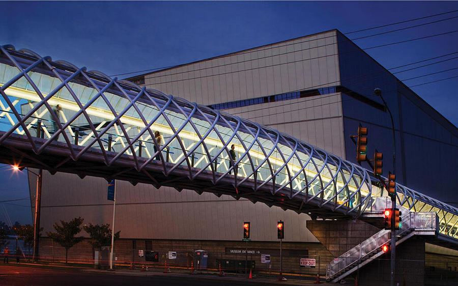 custom pedestrian bridges architectural structural albina co inc