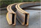 Channel flanges out example photo