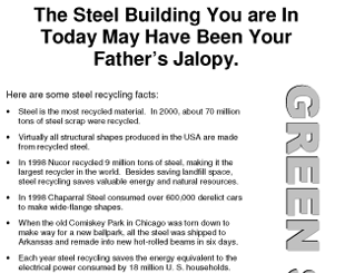 Steel Recycling Facts