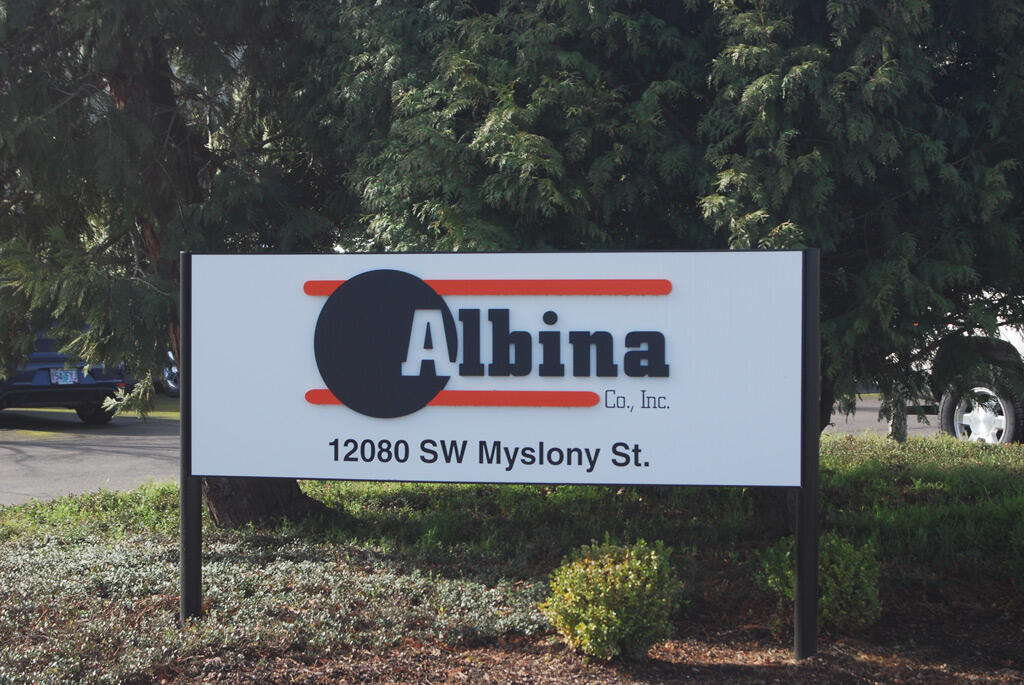 albina sign