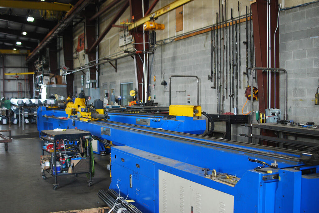 steel bending equipment