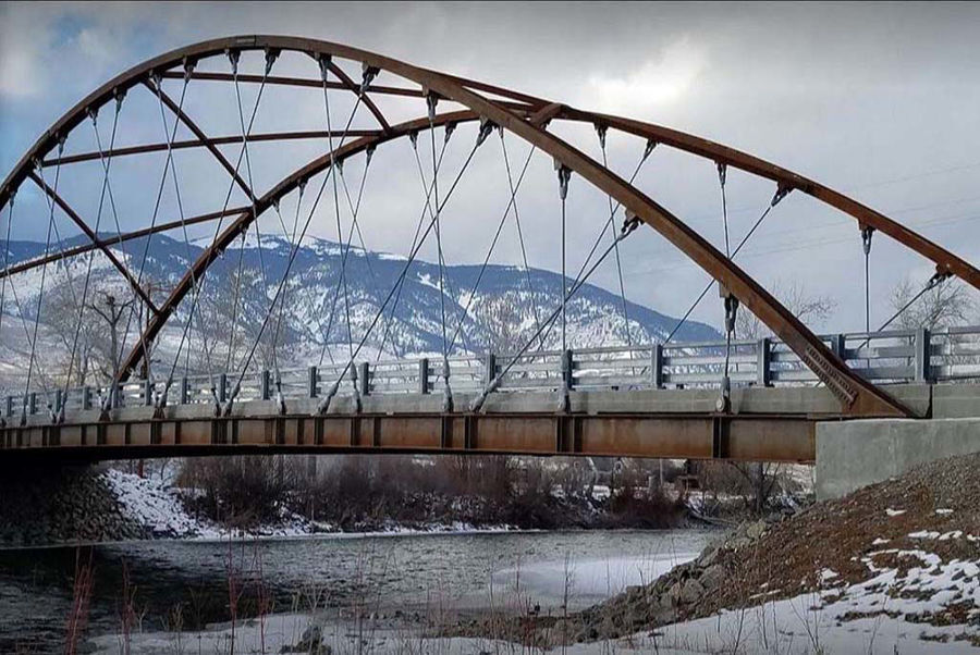 National Steel Bridge Alliance Names the Williams Creek (Shoup) Bridge a Merit Award Winner