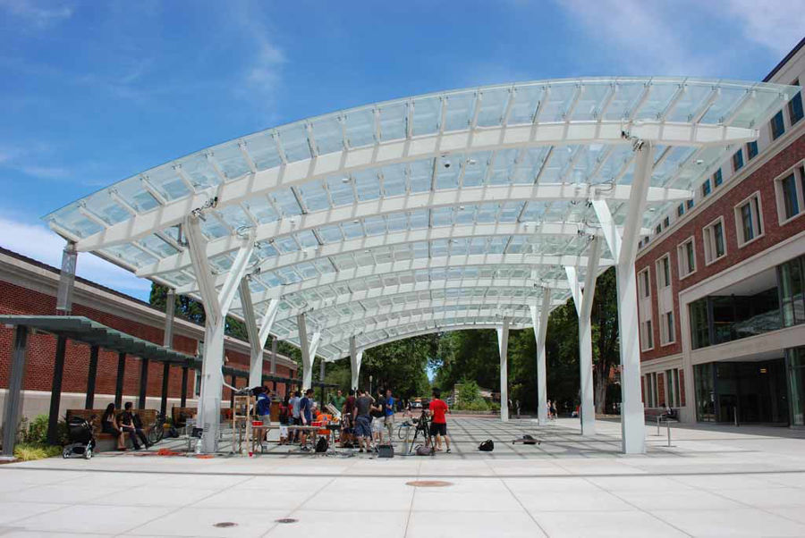 Curved Steel at our Nation's Schools & Universities