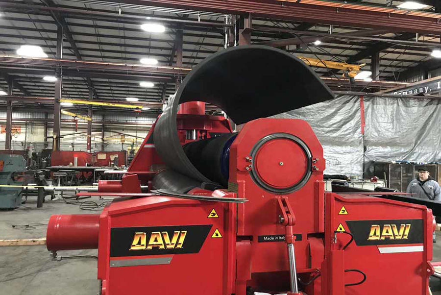 WE GOT YOU A GIFT THIS YEAR! A NEW DAVI MAV K30 PLATE ROLL MACHINE: OPERATIONAL BY THE FIRST OF THE NEW YEAR!