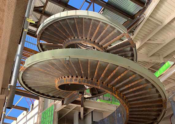 Picture for category Spiral Stringers & Stairs