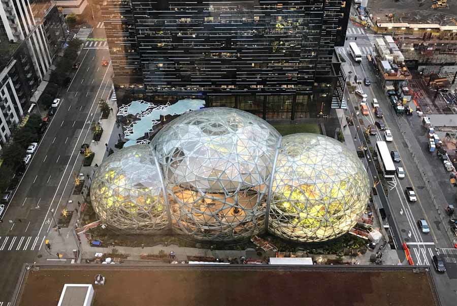 """The Spheres"" Given AISC's 2019 IDEAS2 Presidential Award for Excellence in Fabrication!"