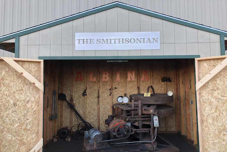 "Custom Made 1940's Bending Machine Displayed On-Site at ""The Smith-sonian"" in Honor of 80 Years in Business!"