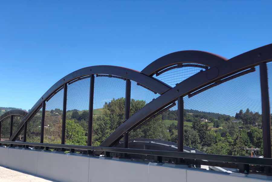 """Meandering River Bridges"" with Curved Steel Structures Highlight Phase 1 of the Newberg/Dundee Bypass in Oregon"