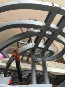 Steel Spiral Stringers for Heavy Weight Bearing Spiral Staircase